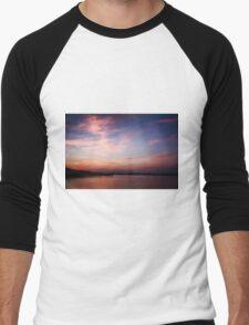 Fiery Skies Men's Baseball ¾ T-Shirt