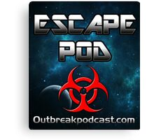 Escape Pod Podcast Canvas Print