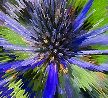 "Purple Flower Go BOOM! by David ""Oz""  Osterczy"