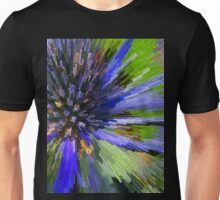 Purple Flower Go BOOM! Unisex T-Shirt