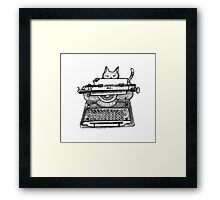 Cats Make The Rules Framed Print