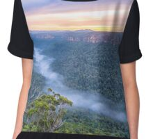 Foggy Morning Chiffon Top