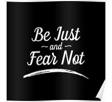 Be Just and Fear Not Poster