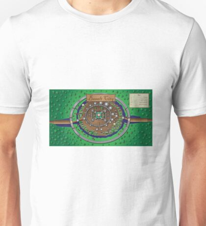 Map of City Unisex T-Shirt