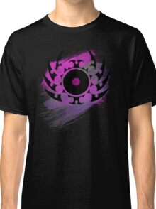 Retro Vinyl Records - Vinyl With Paint and Tribal Spikes - Music DJ TShirt Classic T-Shirt