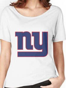 New York Giants Women's Relaxed Fit T-Shirt