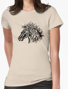 Tribal Horse Cool Vector T-Shirt and Stickers T-Shirt