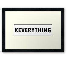 K-Everything  Framed Print