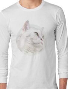 Silver Cat, Look Forward Long Sleeve T-Shirt