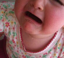 Cry Baby Sticker