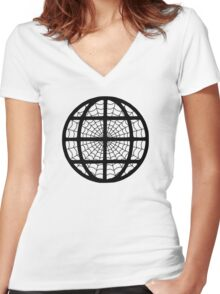 The Internet - The Web - Cool Geek T-Shirt Stickers Women's Fitted V-Neck T-Shirt