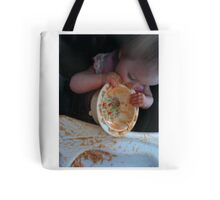 Eat the plate Tote Bag