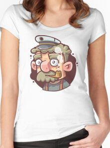 Captain Women's Fitted Scoop T-Shirt