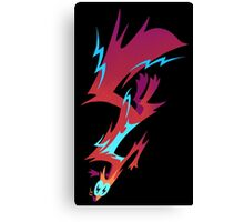 Electrified Weasel Canvas Print