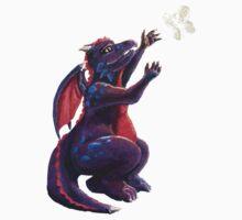 Dragon Chasing Fairy Baby Tee