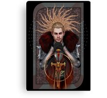 Commander Tarot Canvas Print