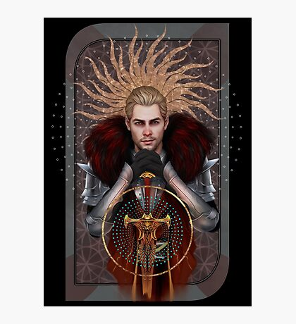 Commander Tarot Photographic Print