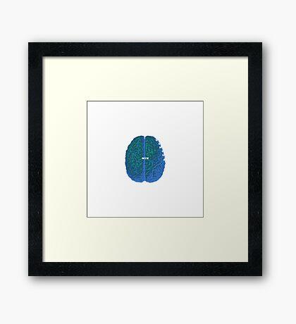 Min Genius Framed Print