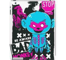 Stop Monkey iPad Case/Skin