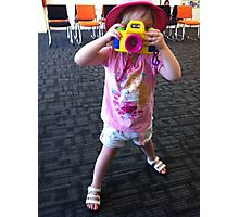 Smile for the camera Photographic Print