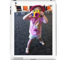 Smile for the camera iPad Case/Skin