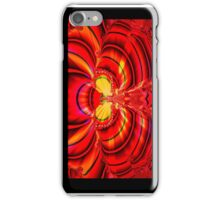 Red Fractal Wings (iPhone Case) iPhone Case/Skin