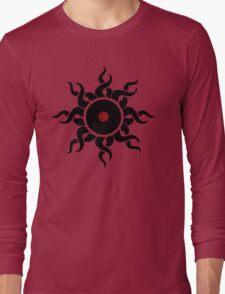 Retro Vinyl Records - Vinyl Sunrise - Modern Cool Vector Music T-Shirt DJ Design Long Sleeve T-Shirt