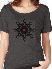 Retro Vinyl Records - Vinyl Sunrise - Modern Cool Vector Music T-Shirt DJ Design Women's Relaxed Fit T-Shirt