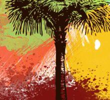 Grunge Palm Tree T-Shirt - Art Prints - Stickers Notebooks Sticker