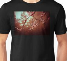 Cherry Blossom and Web Unisex T-Shirt