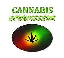 Cannabis Connoisseur Photographic Print