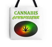 Cannabis Connoisseur Tote Bag
