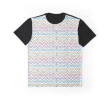 Speckled Chevron Graphic T-Shirt