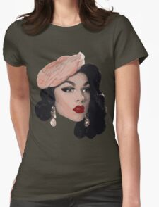 Violet Chachki Womens Fitted T-Shirt