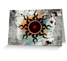 Love Vinyl Records - Music Art Prints with Grunge Texture - T-Shirt and Stickers Greeting Card