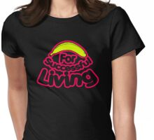 Successful Living With Banana Womens Fitted T-Shirt