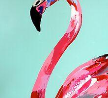 Flamingo by leahjettgallery