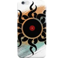 Retro Vinyl Records - Vinyl With Paint - Music DJ Design iPhone Case/Skin
