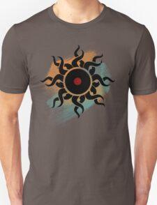 Retro Vinyl Records - Vinyl With Paint - Music DJ Design Unisex T-Shirt