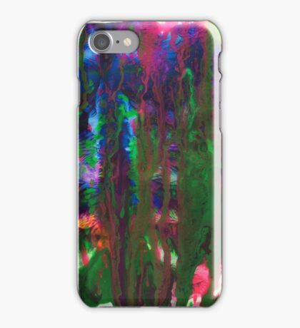 Paint abstract iPhone Case/Skin