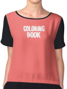 Coloring Book Chiffon Top