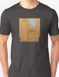 The Legend of Zelda Gold NES Cartridge Retro Gaming Unisex T-Shirt