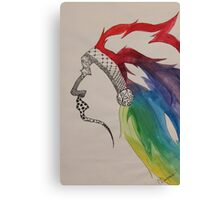 Rainbow Chief Canvas Print