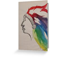 Rainbow Chief Greeting Card