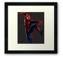 Spider-Man WEB Framed Print