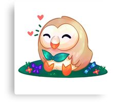 Rowlet - PKMN Sun & Moon   Canvas Print