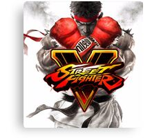 street fighter v best game 2016 nakula Canvas Print