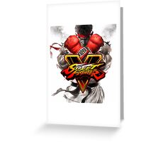 street fighter v best game 2016 nakula Greeting Card