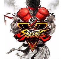street fighter v best game 2016 nakula Photographic Print