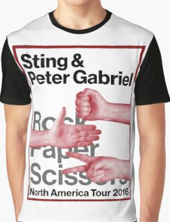 rock paper scissors tour 2016 didit Graphic T-Shirt